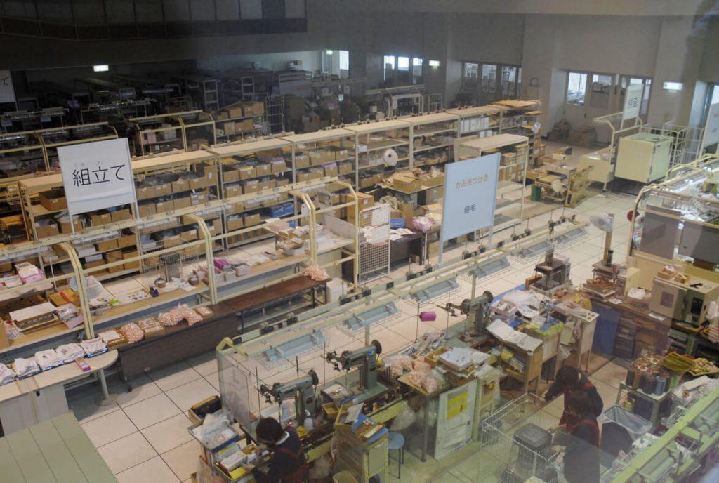 リカちゃん製造工場