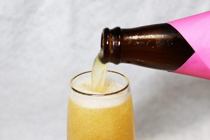 女性にオススメ! 極上の桃やりんごを使ったフルーツビール(クラフトビール)
