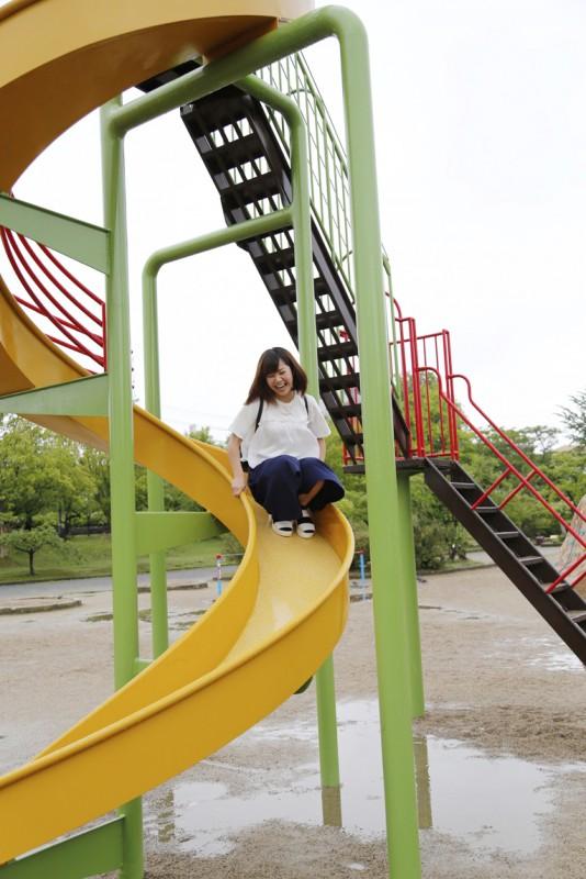 開成山公園アスレチック3