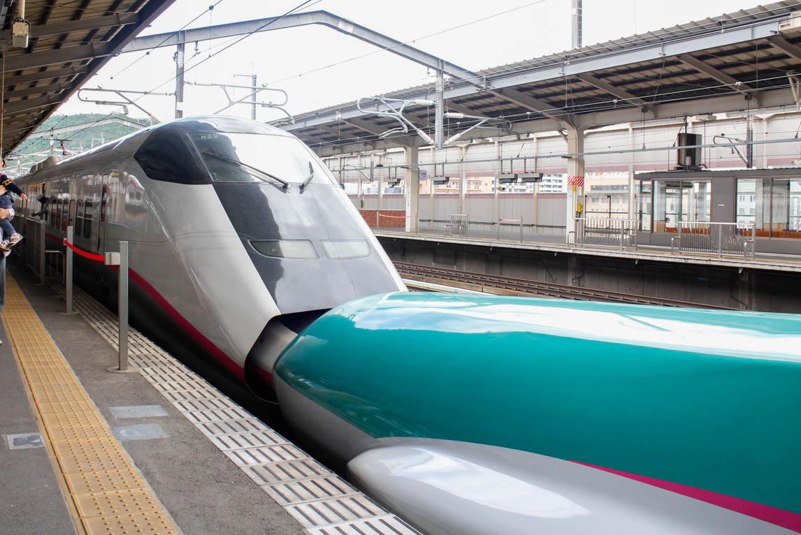 子鉄も大興奮!新幹線の連結が見れる福島駅が人気お出かけスポットに ...