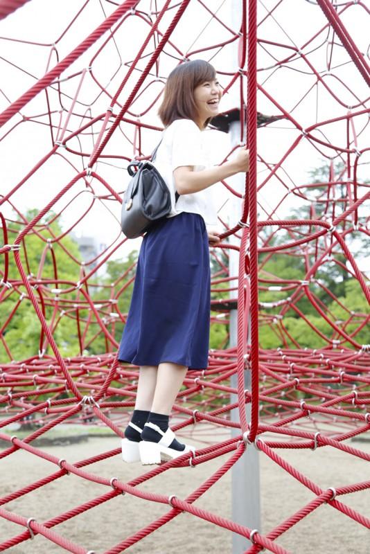 開成山公園アスレチック6