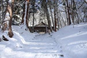 羽黒山湯上神社