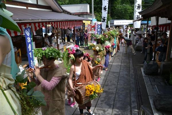 森のはこ舟アートプロジェクト2014:kusaki