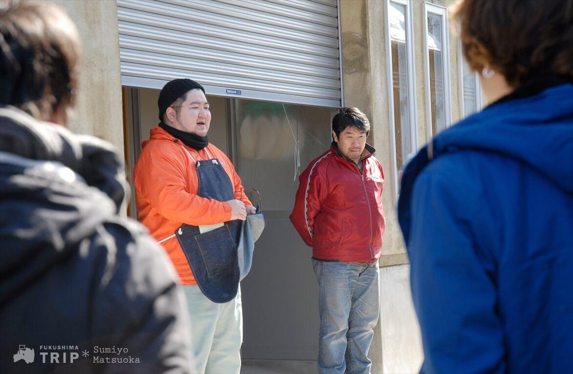 曙酒造の鈴木さん、五ノ井さん