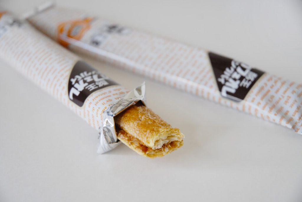 酪王カフェオレロングパイ2