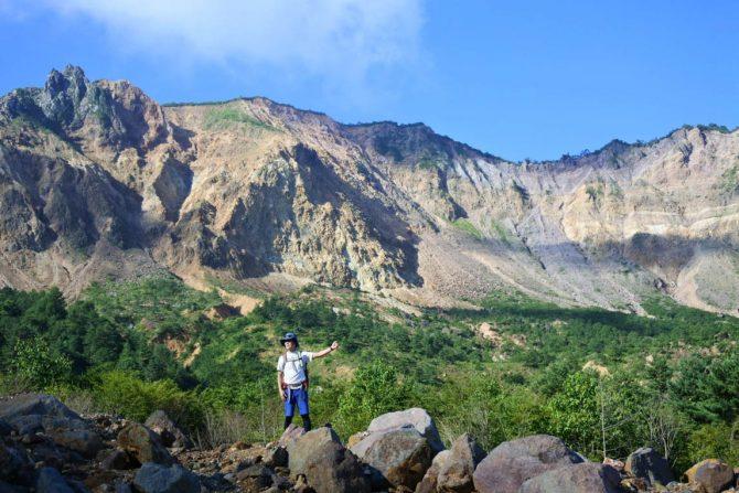130年前の噴火跡をたどる迫力の登山、福島の名峰「磐梯山」裏の顔に迫る