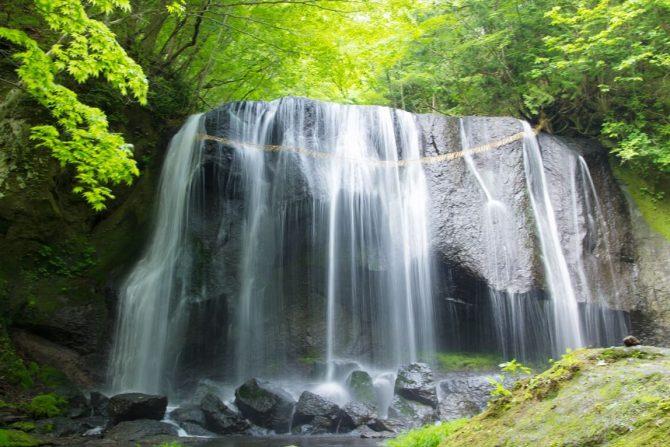 手付かずの自然が美しい!福島の名瀑、達沢不動滝