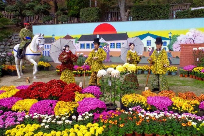 残り7日!埋め尽くすほどの菊に彩られた「二本松菊人形まつり2015」の見どころ