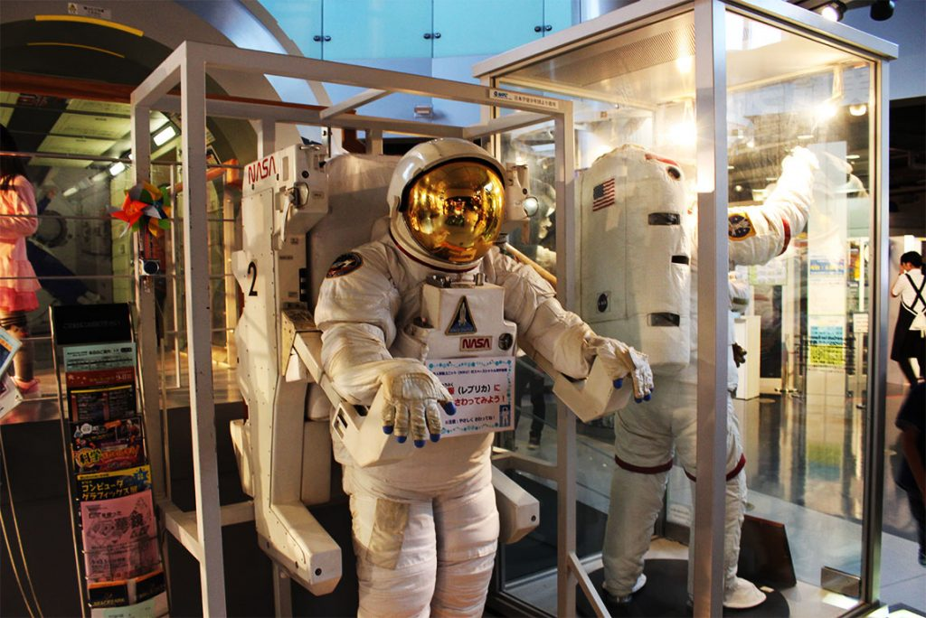 スペースパーク宇宙服