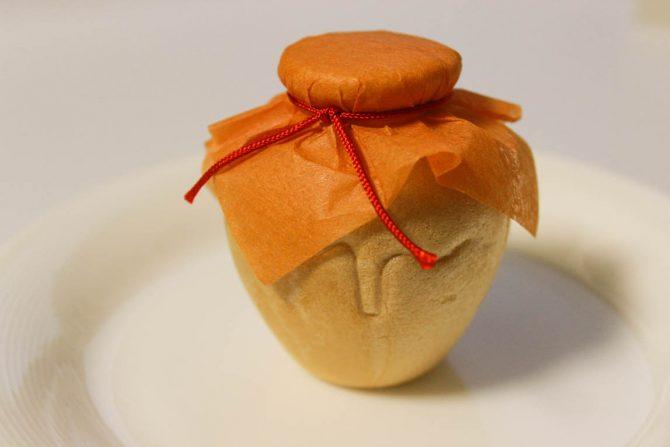 ユニークな和菓子の食べ方が想像以上に難しかった。
