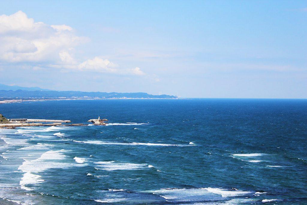塩屋埼灯台から見える絶景
