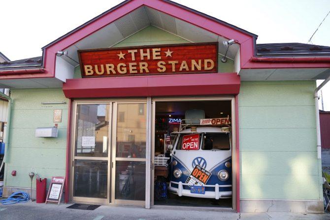 ブラックバーガーが話題のハンバーガーショップ『THE BURGER STAND』