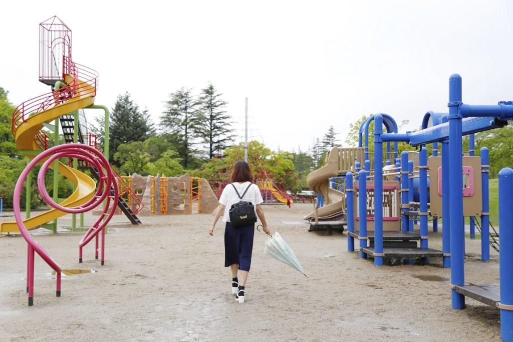 開成山公園アスレチック