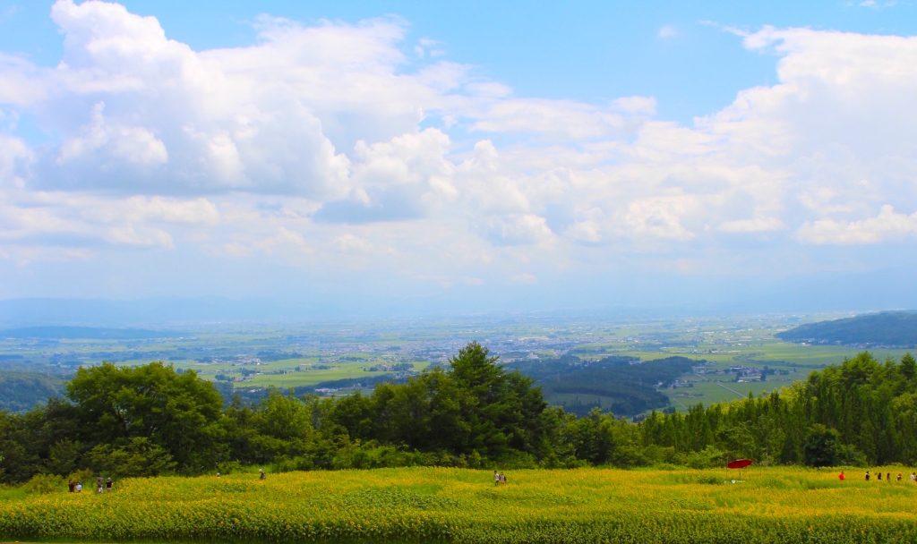 三ノ倉高原からの眺め