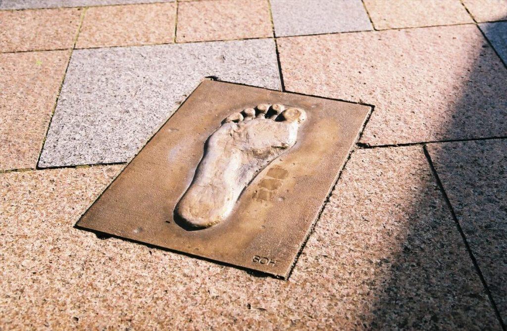 Greeeenメンバーの足形