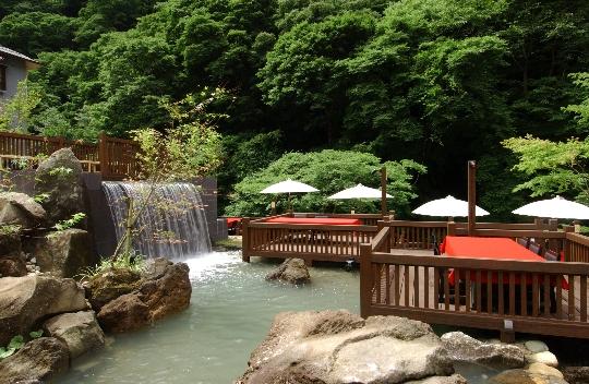 會津東山温泉 原瀧