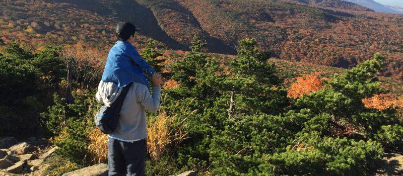 安達太良山の景色