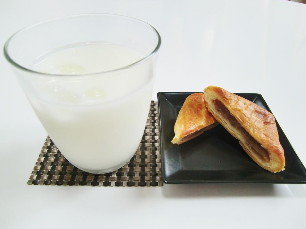 エキソンパイとアイスミルク