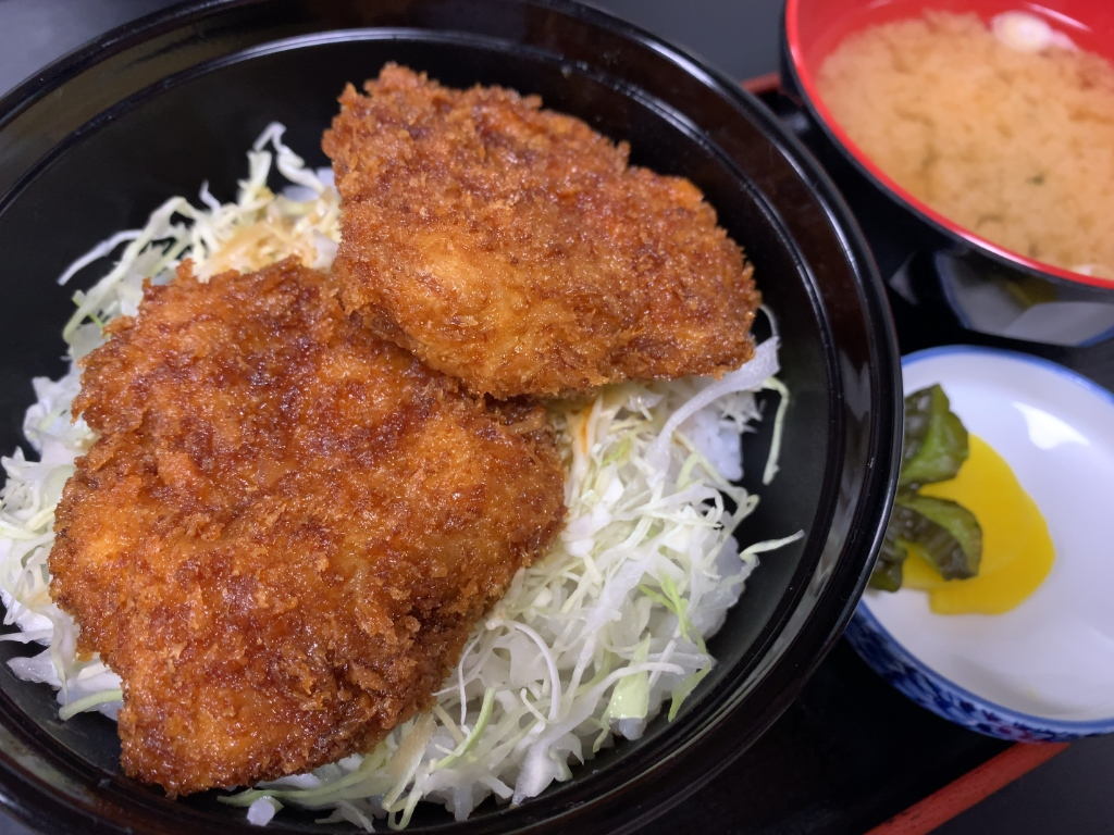 ミニヒレソースカツ丼