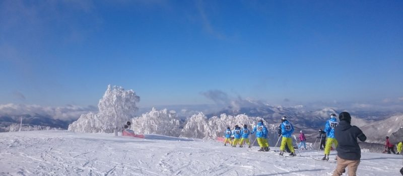 箕輪スキー場ゲレンデ